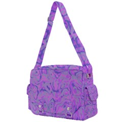 Purple Camouflage Buckle Multifunction Bag by 1dsign