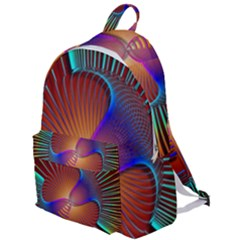 Lines Rays Background Light Rainbow The Plain Backpack