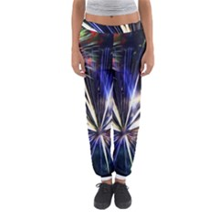 Fireworks Rocket Night Lights Women s Jogger Sweatpants