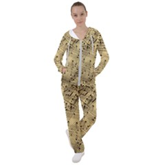 Music Nuts Sheet Women s Tracksuit