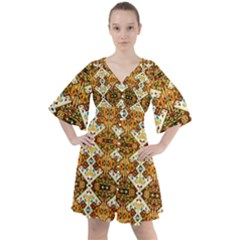 Nr 14 Boho Button Up Dress