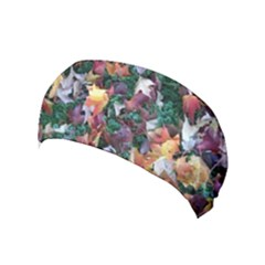 Scattered Leaves Yoga Headband