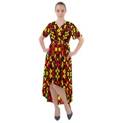 Rby 57 Front Wrap High Low Dress by ArtworkByPatrick