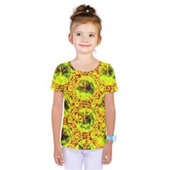 Cut Glass Beads Kids  One Piece Tee by essentialimage