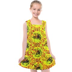 Cut Glass Beads Kids  Cross Back Dress by essentialimage