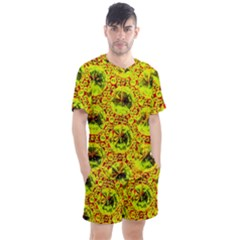 Cut Glass Beads Men s Mesh Tee And Shorts Set by essentialimage