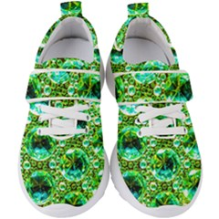 Cut Glass Beads Kids  Velcro Strap Shoes by essentialimage