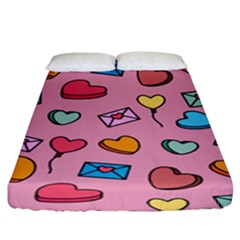 Candy Pattern Fitted Sheet (king Size) by Sobalvarro