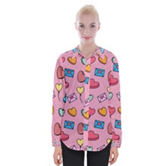 Candy Pattern Womens Long Sleeve Shirt by Sobalvarro