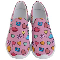 Candy Pattern Men s Lightweight Slip Ons by Sobalvarro
