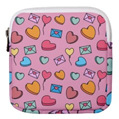 Candy Pattern Mini Square Pouch by Sobalvarro