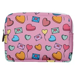 Candy Pattern Make Up Pouch (medium) by Sobalvarro