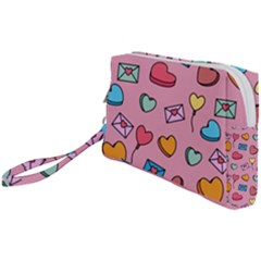 Candy Pattern Wristlet Pouch Bag (small) by Sobalvarro