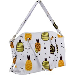 Pineapples Canvas Crossbody Bag by Sobalvarro