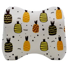Pineapples Velour Head Support Cushion by Sobalvarro