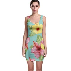 Hibiscus Bodycon Dress by Sobalvarro