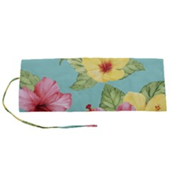 Hibiscus Roll Up Canvas Pencil Holder (s) by Sobalvarro