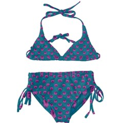 Field Of Flowers Decorative Kids  Classic Bikini Set