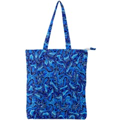 A 46 Double Zip Up Tote Bag