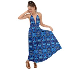 A 46 1 Backless Maxi Beach Dress by ArtworkByPatrick