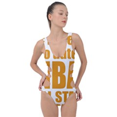 Mingas 3 Gal Fridae 12 Side Cut Out Swimsuit