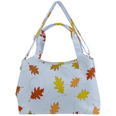 Every Leaf Double Compartment Shoulder Bag