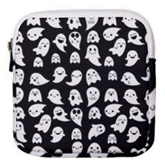 Cute Kawaii Ghost Pattern Mini Square Pouch