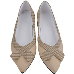 Tile Cream Women s Bow Heels by MissUniqueDesignerIs