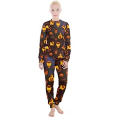 Funny Halloween Design Women s Lounge Set