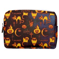 Funny Halloween Design Make Up Pouch (medium)