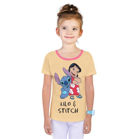 Lilo And Stitch Kids  One Piece Tee by TeresalovesThomas2012