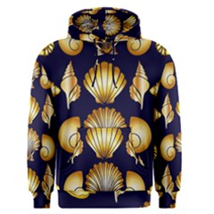 Snails See Shells Golden Men s Pullover Hoodie