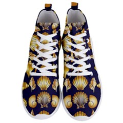 Snails See Shells Golden Men s Lightweight High Top Sneakers
