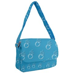 Bubble Group Pattern Abstract Courier Bag