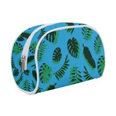 Tropical Leaves Nature Makeup Case (small) by Vaneshart