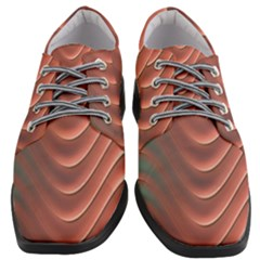 Texture Digital Painting Digital Art Women Heeled Oxford Shoes