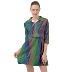 Texture Abstract Background Mini Skater Shirt Dress