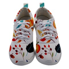 Pattern Pumpkins Autumn Women Athletic Shoes by Vaneshart