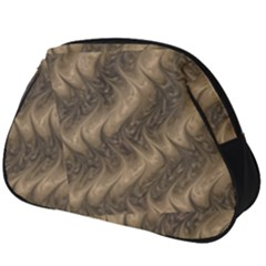 Texture Butterfly Skin Waves Full Print Accessory Pouch (big)