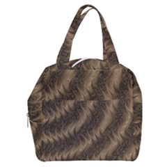 Texture Butterfly Skin Waves Boxy Hand Bag