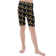 Abstract Pattern Kids  Mid Length Swim Shorts