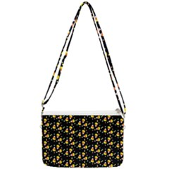 Abstract Pattern Double Gusset Crossbody Bag