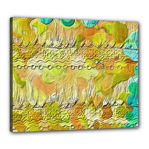 Texture Abstract Background Colors Canvas 24  X 20  (stretched)