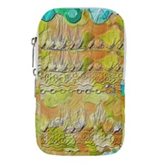 Texture Abstract Background Colors Waist Pouch (small)