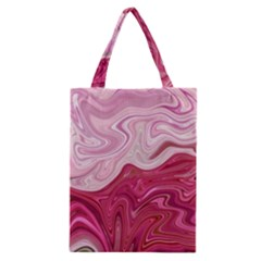 Liquid Marble Trending Abstract Paint Classic Tote Bag by Vaneshart