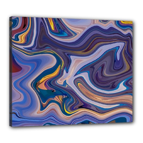 Liquid Marble Background Canvas 24  X 20  (stretched)