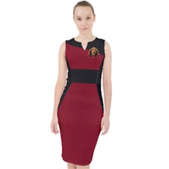 King Sargon Ii Midi Bodycon Dress