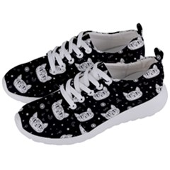 Gothic Cat Men s Lightweight Sports Shoes by Valentinaart