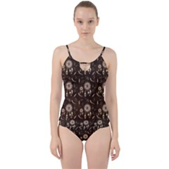 Wonderful Pattern With Dreamcatcher Cut Out Top Tankini Set
