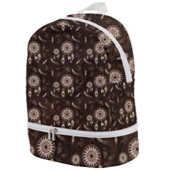 Wonderful Pattern With Dreamcatcher Zip Bottom Backpack
